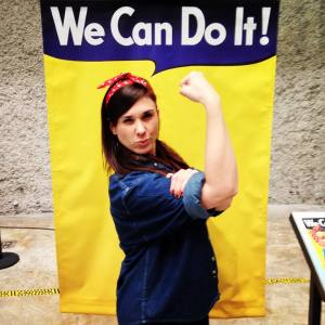 Breezie the Riveter